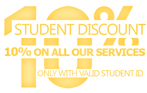 10% Removals Discount for Students